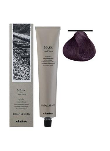 Davines Davines Mask Vibrachrom Saç Boyası 6,22 Koyu Kumral Yogun Irize 100 Ml Renksiz
